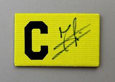 Jaap Stam Signed Captains Armband Manchester United Autograph Memorabilia + COA