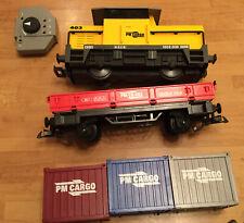 Playmobil 5258 RC Freight Train / Railway with Remote Control Wireless