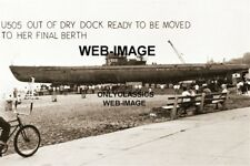 U505 GERMAN SUBMARINE AT SCIENCE MUSEUM CHICAGO IL 8X12 PHOTO WORLD WAR TWO WWII