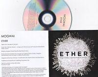 MOGWAI ETHER RARE NUMBERED 1 TRACK PROMO CD [ATOMIC]