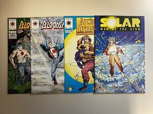 Solar Man Of The Atom 1 ~ Archer & Armstrong 0 Bloodshot 6 7 Valiant LOT Comics