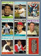 1964 TOPPS  BASEBALL EX to NRMT COMPLETE YOUR SET - U PICK ANY FIVE