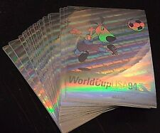 WORLD CUP SOCCER 1994 Upper Deck LOT of ( 50 ) STRIKER Mascot HOLOGRAMS Rare INV