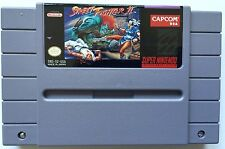 STREET FIGHTER II VINTAGE SUPER NINTENDO SNES VIDEO GAME CARTRIDGE