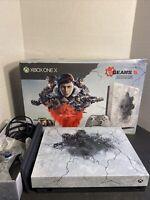 Microsoft Xbox One X 1TB Gears 5 Limited Edition Console Bundle W Box - Amazing