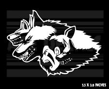 Princess Mononoke - Wolfpack -Ghibli - Japanese Anime - Vinyl decal sticker