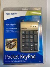 Kensington Pocket Keypad Zahlentastatur Mit 2 Port USB Hub