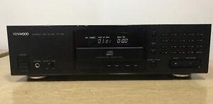 KENWOOD DP-7020 COMPACT DISC PLAYER LINEAR SKATE DISC LOADING MECHANISM W/MANUAL