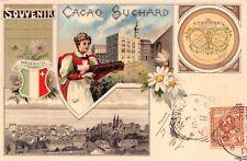 2354) CACAO SUCHARD, SOUVENIR NEUCHATEL (SVIZZERA). VIAGGIATA.