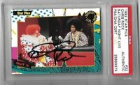 1992 star pics # 32 SNL CHRIS ROCK AUTO CARD PSA DNA AUTOGRAPH SAT NIGHT LIVE