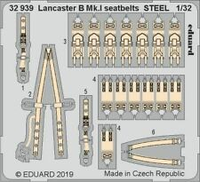 Eduard 1/32 Avro Lancaster B Mk.I Seatbelts STEEL # 32939