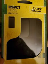 Otterbox Impact series HTC EVO 3D Rubber Skin Mobile phone Case Cover Black