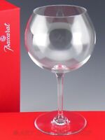 "Baccarat France Crystal 7.5"" DEGUSTATION ROMANEE CONTI WINE GLASS in Box"