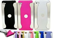 for iphone 4 4g 4s phone hard back case cover shiny silver gold black pink blue