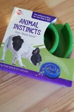 """Spot Ethical Animal Instincts Slow Feed Bowl 10""""-Blue  New In Box"""