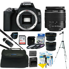 Canon EOS 250D / Rebel SL3 24.1MP 4K Digital SLR Camera + ALL YOU NEED KIT