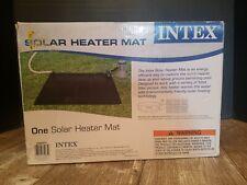 Intex Solar Mat Above Ground Swimming Pool Water Heater Black 28685E NEW