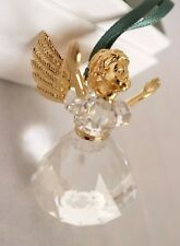 BNIB Swarovski Crystal #203083 Christmas Memories 1996 Angel Ornament, Mint MIB