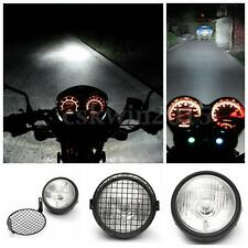 Moto Faro Anteriori Side Lampada Mount Supporto Luci per Cafe Racer Old School