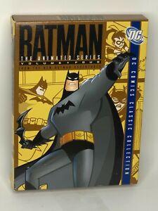 The Batman - Animated Series : Vol 4 (DVD, 2016, 4-Disc Set) VGC Region 1