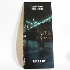 Used Tiffen Star Filters Guide Creative system O40703