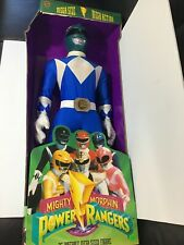 "Toymakers Mega Size Mega Action Mighty Morphin Power Rangers 36"" Blue Ranger"