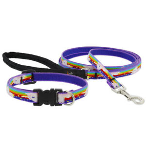 """Lupine 1/2"""" Micro Batch - Little Unicorn pattern - 1/2"""" Collars or Leashes"""