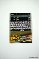2020 Topps Series 1 #DBC-22 New York Yankees Decade's Best Chrome