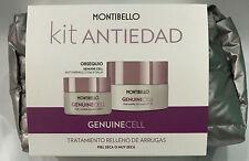 NEW Genuine Cell : Cream Rich Wrinkle 50ML + Eye&Lip Balm 15ML Montibello