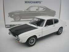 Ford Capri RS 2600 LHD Year 1970 White/black 1 18 Minichamps