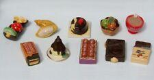 Fèves de collection en porcelaine _ TOUT CHOCOLAT _ Série complète 10 fève