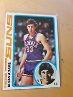 1978/79 Topps #77 Alvan Adams Phoenix Suns Basketball Card, Forward, Center.