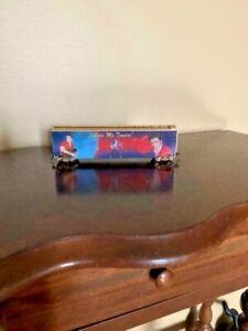 "Ho 1:87 Scale Train ELVIS PRESLEY ""LOVE ME TENDER"" Box Car"
