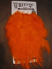 Fly Tying-Whiting Spey Bronze Rooster Saddle Orange #E
