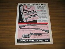 1960 Print Ad Franchi Automatic Shotguns,Anschutz Match Rifles Stoeger Arms