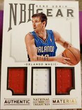 BENO UDRIH 2012-13 Panini National Treasures NBA Gear Triple Game Used Jersey 99