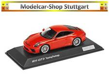 Porsche 911 GT3 Touring Package, Lavaorange, Limited Edition Spark 1:43