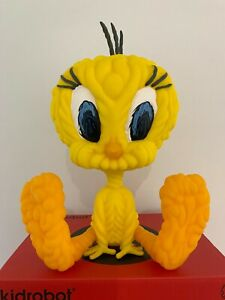 Yellow Tweety Bird Looney Tunes By Mark Dean Veca & Kidrobot