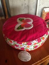 Dog Bed / Cat Bed / Pet Bed-Slumber Pet Reversible Floral Bed-Pink/Orange - New