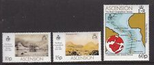 ASCENSION 1980 GEOGRAPHICAL SOCIETY SET NEVER HINGED MINT
