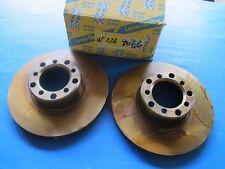2 Disques de freins ventilés avant Lucas pour Mercedes 280, 300, 450, 500