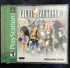 Final Fantasy Ix 9 PlayStation 1 Ps1 Greatest Hits New Sealed