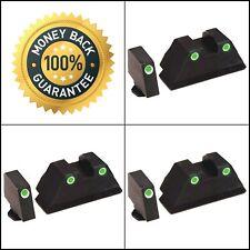 Ameriglo Tall Suppressor 3 Dot Tritium For Glock GL-329 Night Sight Green *NEW*