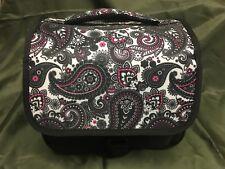 DSLR Designer Camera Bag - Black Paisley - FREE SHIPPING!
