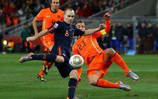 Poster A3 Andres Iniesta España Holanda Gol Mundial Futbol Football Cartel 01