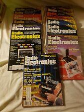 Vintage Radio - Electronics Magazines 15 Piece Lot 1983 1984 1985