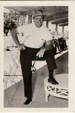 Sam Snead Signed Autographed Vintage Postcard PGA Golf Legend JSA HH03740