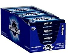 New listing Eclipse Winterfrost Sugar Free Gum - 12 / 18 Piece Packs 216 Pieces Total Fresh