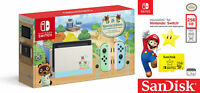 Nintendo Switch Animal Crossing: New Horizons Edition with Sandisk 256GB MicroSD