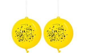 Despicable Me Minions Party Favour Punch Balloons Pack of 2